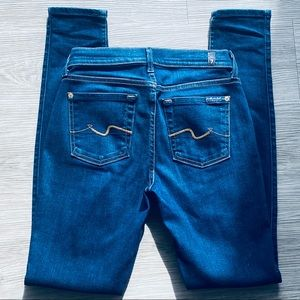 7 For all Mankind The Skinny Blue Jean